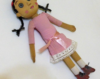 Doll girl-ghost Coraline