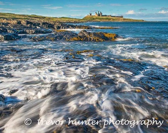 Picture of Dunstanburgh Castle | Northumberland Castle | Castle Picture | Northumberland Landscape England | Dunstanburgh Castle #2