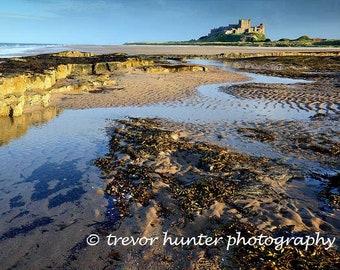 Bamburgh Castle Photograph | Bamburgh Castle Image | Northumberland Castle | Bamburgh Castle #3 | Northumberland England