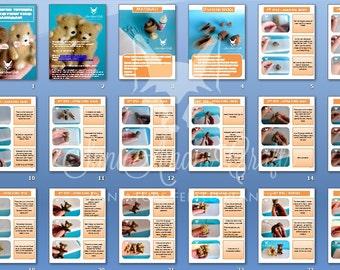 PDF Tutorial Needle Felted Teddy Bear Miniature. How To Felt Teddy Bear. Instant Download. Digital Tutorial Felting Instructions SaniAmani