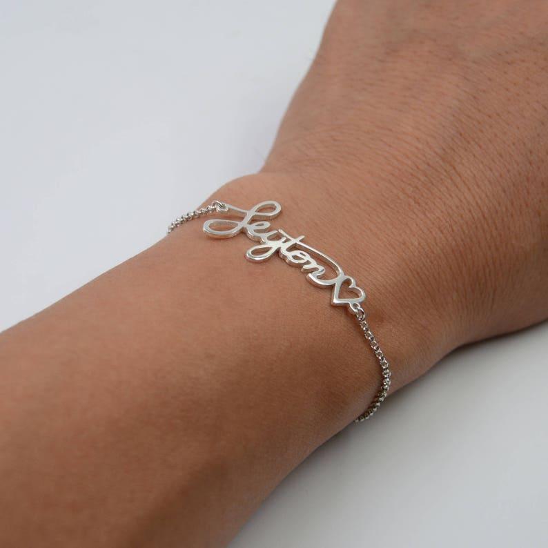 Memorial Handwriting Bracelet-Signature Bracelet-Personalized image 0