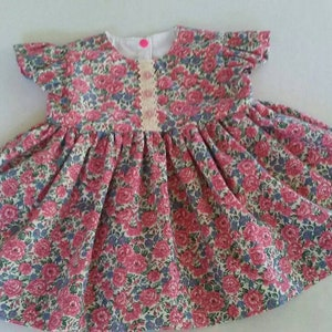 USA BabyCuteBaby.etsy.com Easter Dress Easter Bunny Dress 1st Easter Dress Spring Summer Party Dress Little Girls Easter Dress 3mo to 5 yr