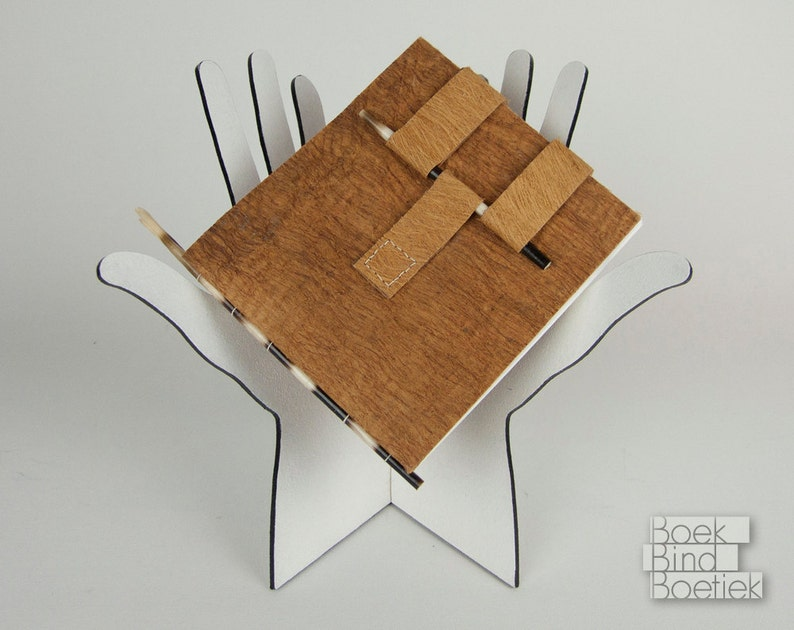 Natural Notebooks with Cinnamon Bark and Porcupine Quills from image 0