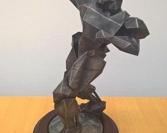 Quake 3: Bronze Effect statue
