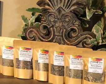 All-Natural Loose Leaf Organic Herbal Tea (hand-Integrated)