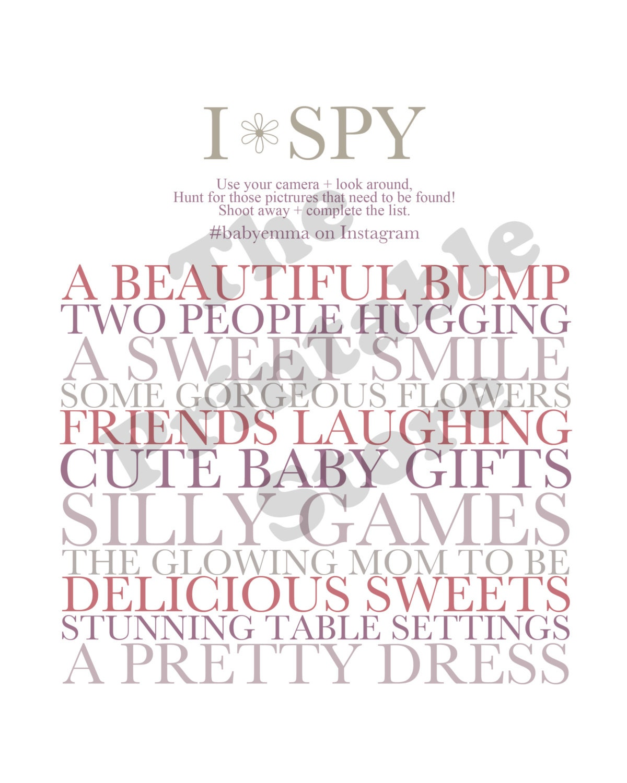 I-Spy Baby Shower Printable Pdf Download Baby Girl -9446