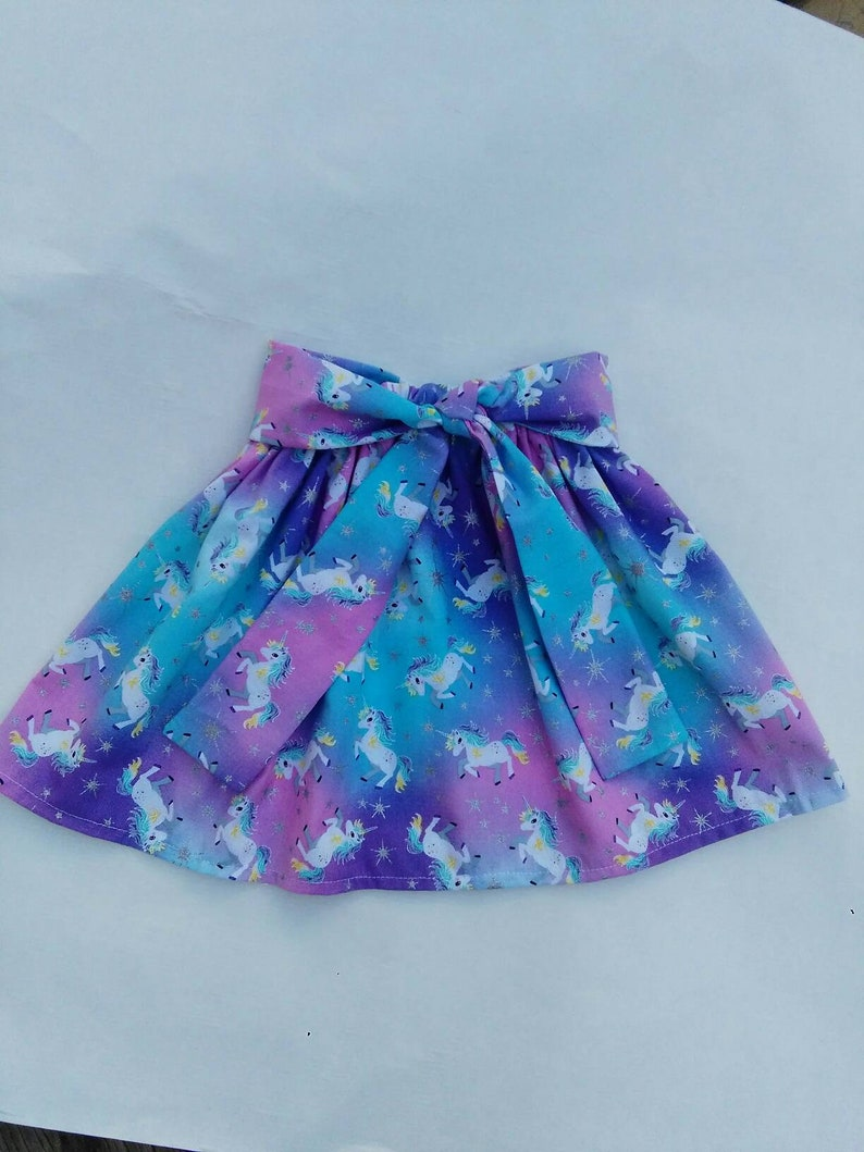Unicorn toddlers birthday skirt baby girl skirt toddlers outfit