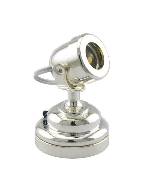 Metall batteriebetriebene LED Lampe Puppenhaus Miniatur Licht Kronleuchter