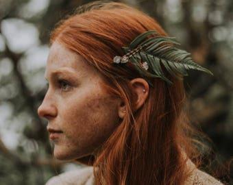 Crystal Bobby Pin - Bridal Hair Accessory - Quartz Hair Pin - Forest Wedding