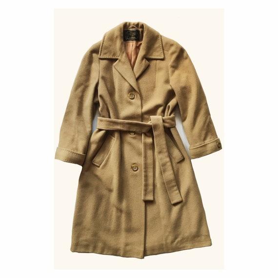 100% Cashmere coat - long jacket - wool coat - Del