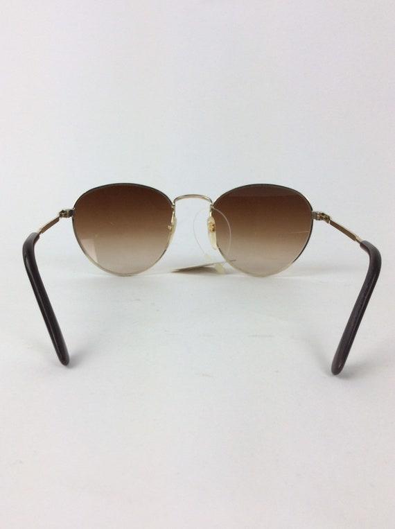 Vintage Sunglasses - red and black sunglasses - 7… - image 2