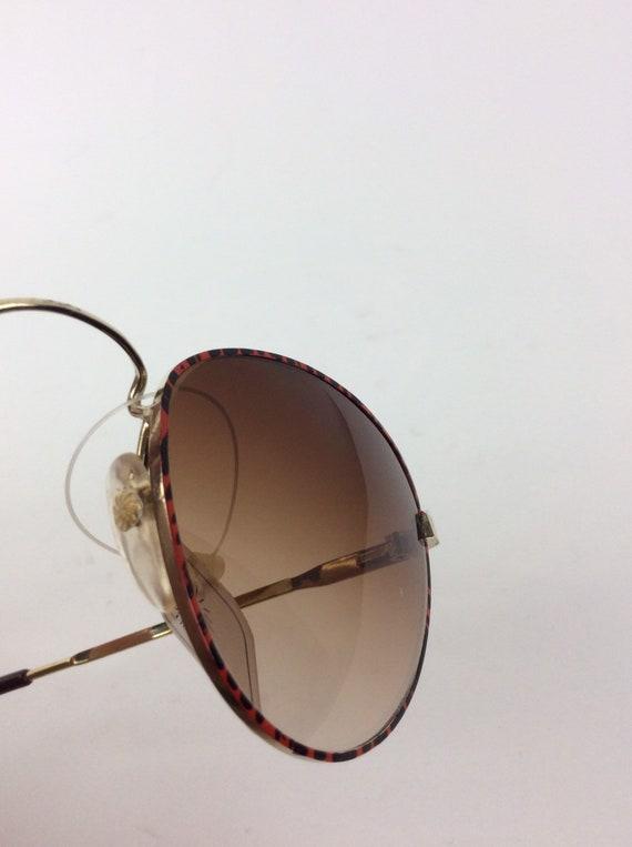 Vintage Sunglasses - red and black sunglasses - 7… - image 4
