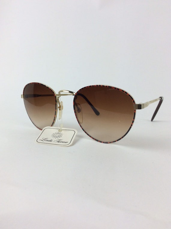 Vintage Sunglasses - red and black sunglasses - 7… - image 7