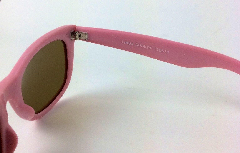 Gafas de sol Linda Farrow  gafas de sol rosas  gafas