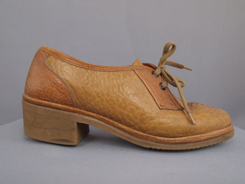 f72498f2fa8 Vintage leather shoes Sioux shoes granny chic retro