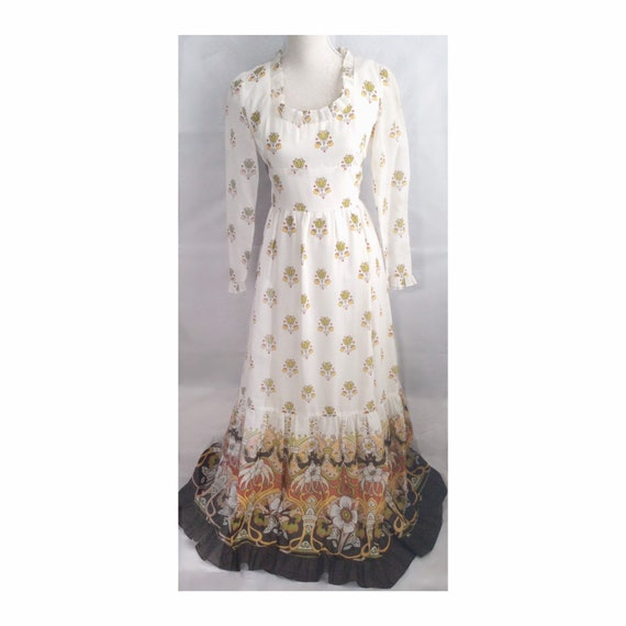 Alexander Clare dress - boho dress - maxi dress -