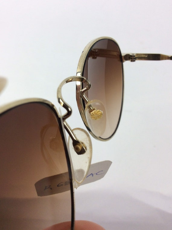 Vintage Sunglasses - red and black sunglasses - 7… - image 10