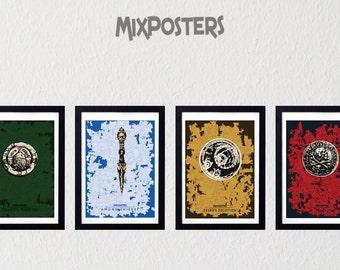 UNCHARTED 4- pack poster, Minimalist Print,  game Poster, Wall Art, Art Print, Wall Decor, Digital Art