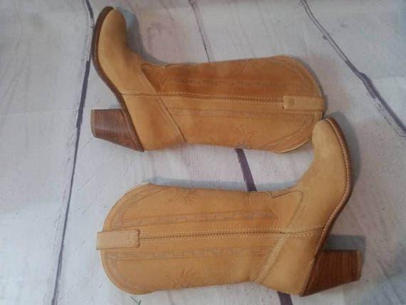 DINGO Cowgirl Boots Women Size 7 M Vintage 1980s L