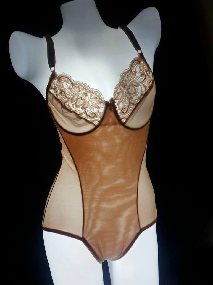 2af5df8c4d Olga One Piece Beige Teddy  Bridal Shower Bachelorette Wedding
