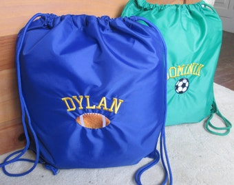 Personalized Sports Cinch Sacks  Bags -- Basketball 8d274667af7c5