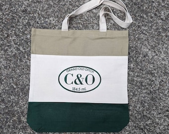 C&O Canal Tote Bag / Trail Towel / Pittsburgh / GAP Trail / Hancock /Trail Tote Embroidered