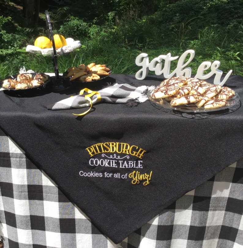 Pittsburgh Cookie Table / Wedding Sign / Dessert Table / image 0