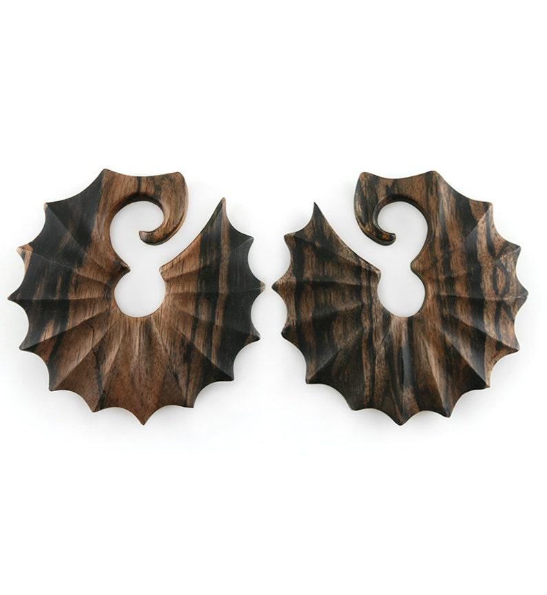 Relic Wooden Ear Weights  Hangers