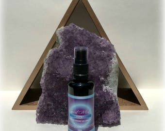 Spirit Mist Smokeless Smudge sage spray and Energy Clearing Music for positive energy.  Essential oils! Reiki charged!