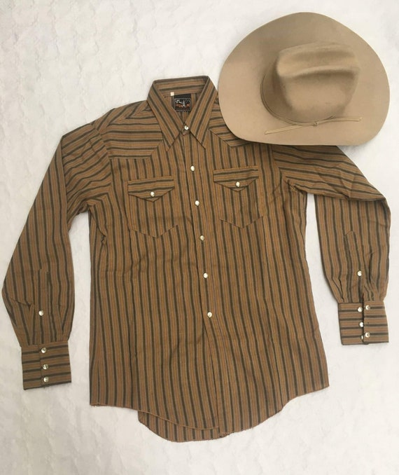 1950s  1960's WESTERN SHIRT