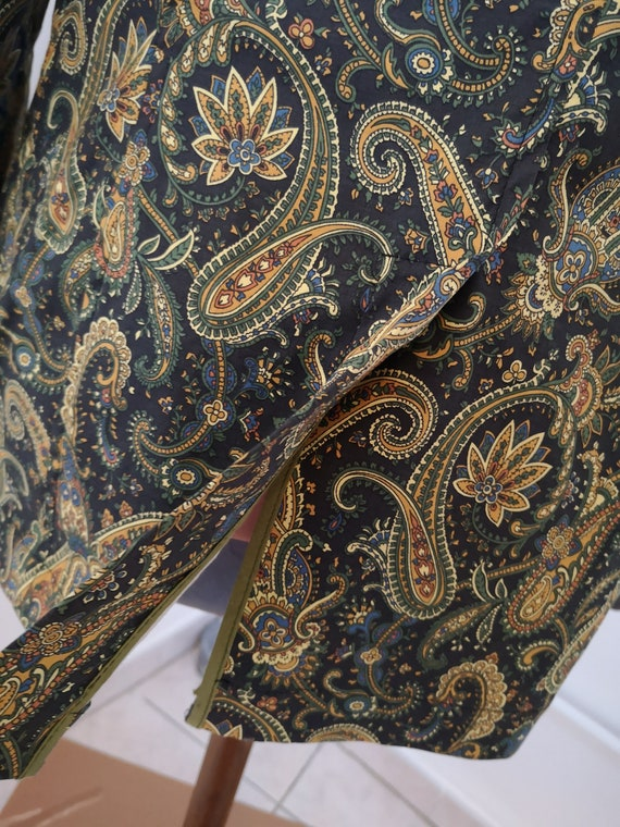 1960's style psychedelic paisley print blazer - image 7
