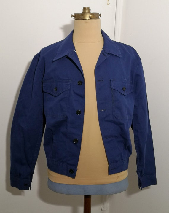 1940's STYLE  SELVEDGE WORKJACKET
