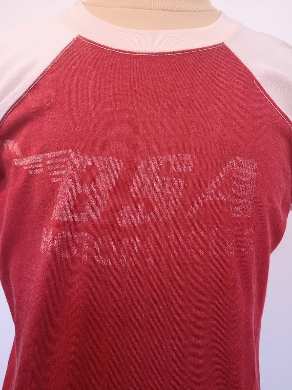 1960s BSA MOTORCYCLES T-SHIRT - image 2