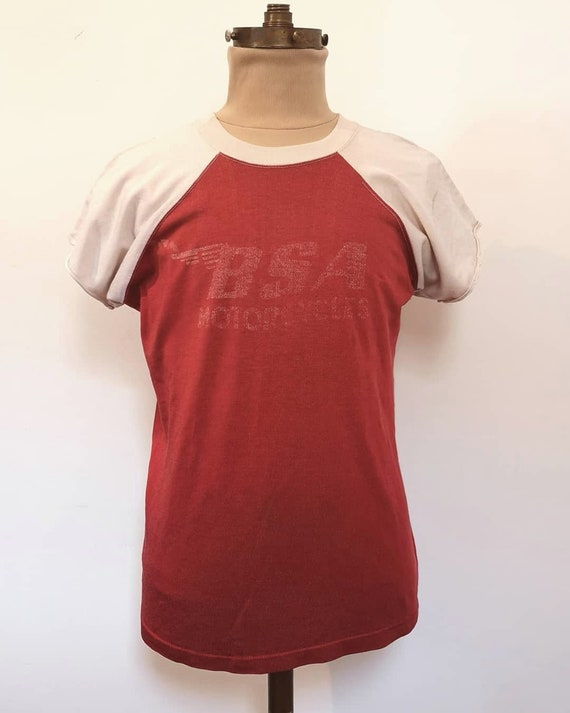 1960s BSA MOTORCYCLES T-SHIRT - image 3