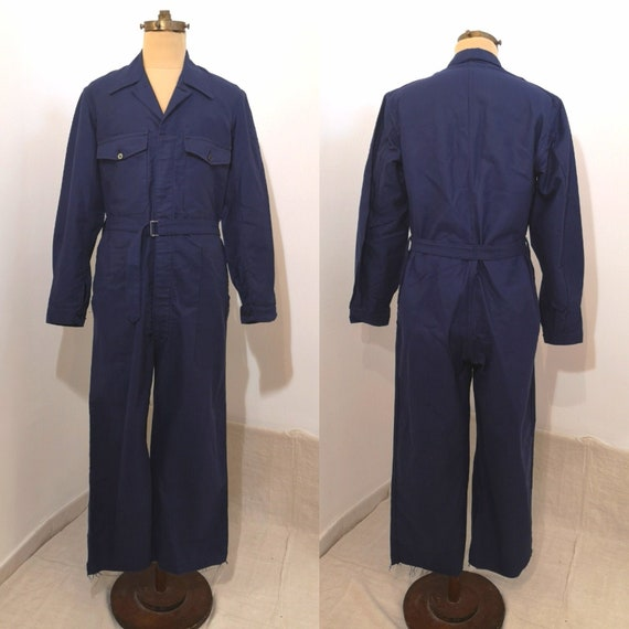 REDUCED PRICE! Vintage French Workwear Coverall