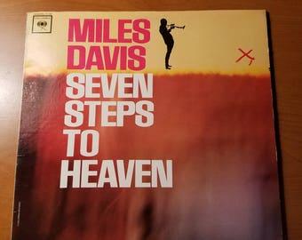 Miles Davis Seven Steps to Heaven - Columbia Records Vintage Vinyl   #3