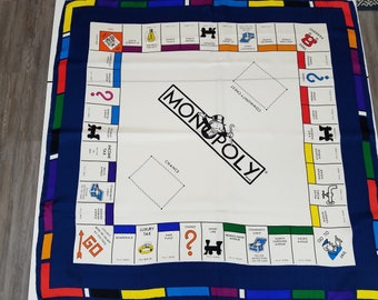Monopoly Silk Scarf  #S3