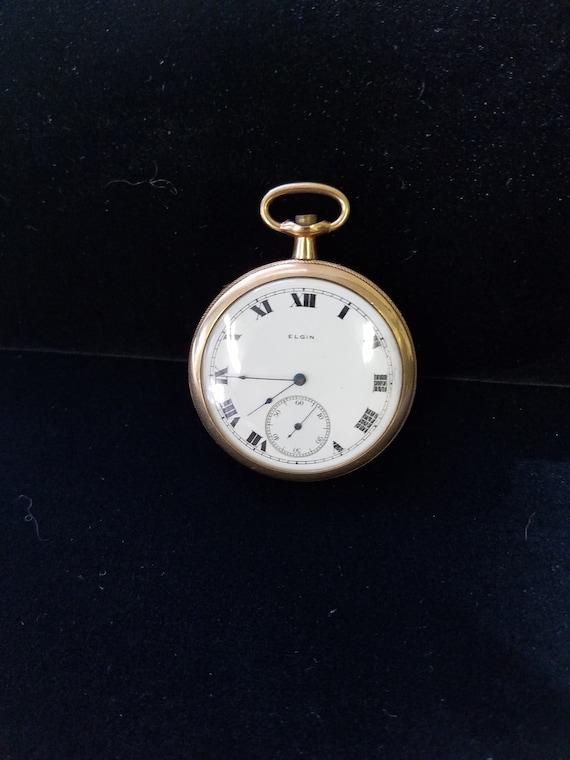 Antique Pocket Watch Elgin