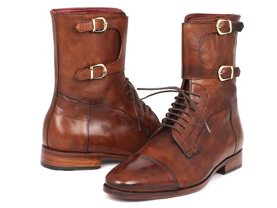 Ces bottes Paul Parkman hommes marron cuir de veau (ID (ID (ID #F554-BRW)   New Style  d1f98b