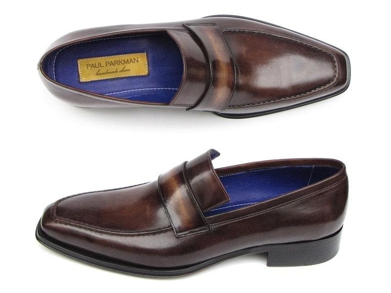 Paul Parkman Men's Bronze Loafer Bronze Men's Shoes (ID#012-BRNZ) 5dc6d2