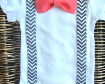 02539d252 Baby Boy Clothes Baby Camouflage Orange Bow Tie Camo Vest