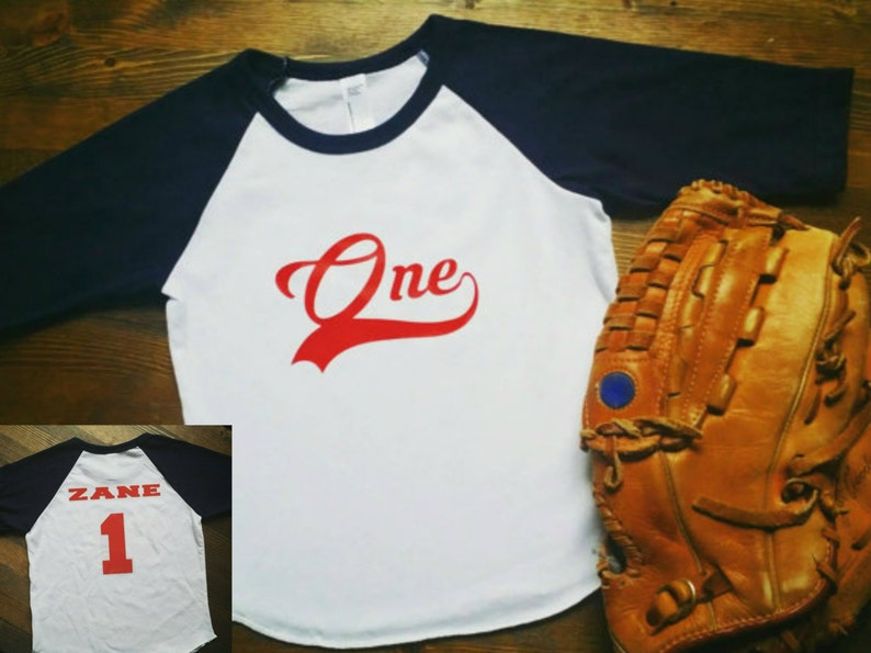 Baseball Birthday Shirt 1st Basseball