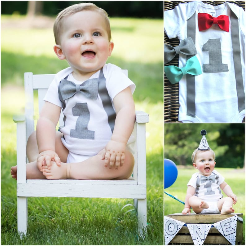 1b023d1d9cb8 Boys First Birthday Outfit Personalized First Birthday Boy