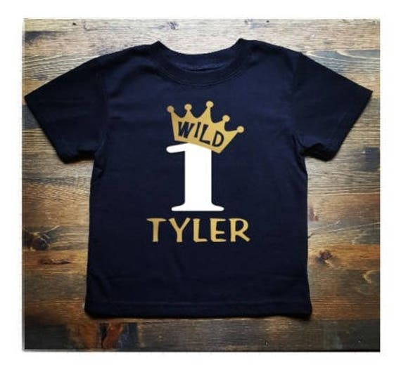 1st Birthday Shirt Boy.Wild One First Birthday Gold Crown First Birthday Shirt Boys First Birthday Shirt 1st Birthday Shirt Boy First Birthday Boy Shirt