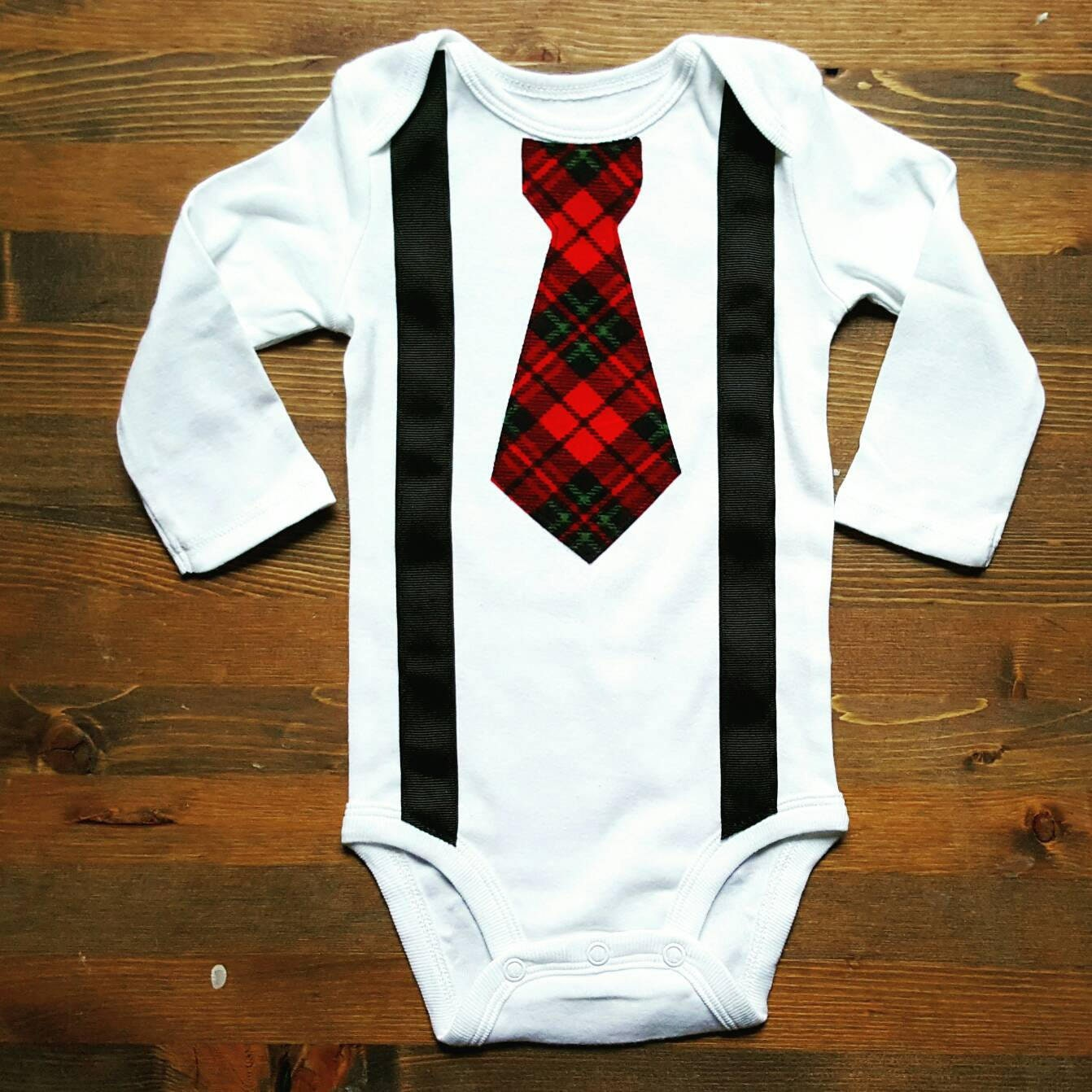 Baby Boy Clothes Baby Boy Christmas Outfit Baby Tie   Etsy
