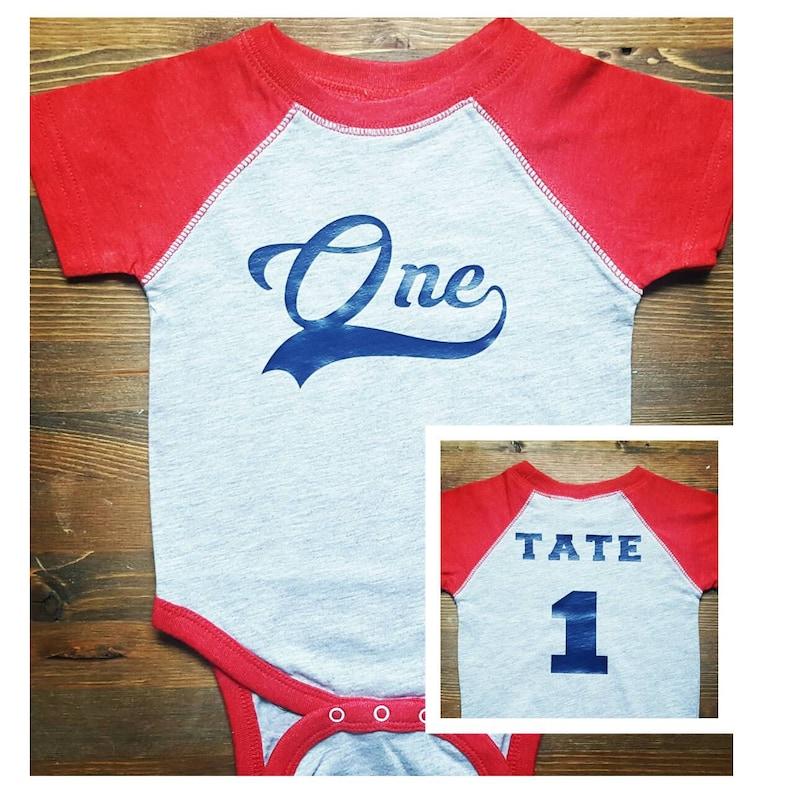 058b1af3f Boys First Birthday Outfit Baseball First Birthday 1st