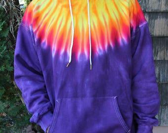 Circus Freak Tie Dye Hoodie Sweatshirts Pullover