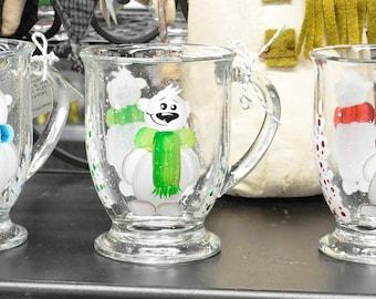 NEW Hand painted Polar bear mug
