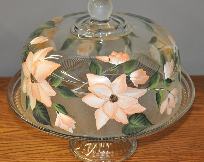 Magnolia Cake Keeper/Punch bowl