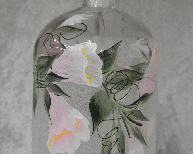25.4 oz. Soap/Lotion pump dispensers, Floral